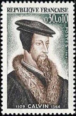 Jean Calvin (1509-1564), théologien et réformateur