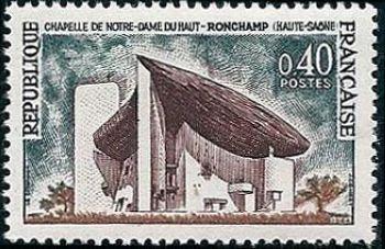 Chapelle de Notre Dame du Haut à Ronchamp
