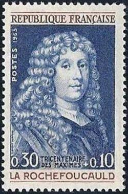 François VI prince de Marcillac duc de La Rochefoucauld (1613-1680) moraliste tricentenaire de la publication de ses «maximes»