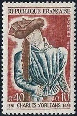 Charles d'Orléans (1391-1465) poète 5ème centenaire de sa mort