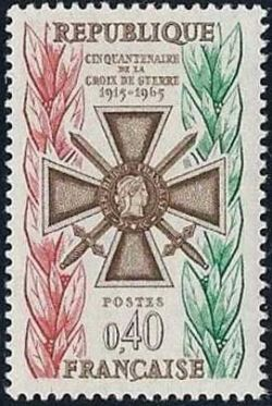 Cinquantenaire de la croix de guerre