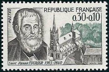 Saint Pierre Fourier (1565-1640) prêtre catholique et éducateur,