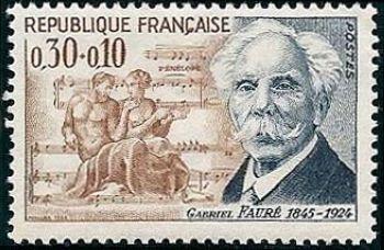 Gabriel Fauré (1845-1924), compositeur français