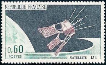 Lancement du satellite D1 à Hammaguir (Algérie)