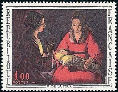 «Le nouveau né» de Georges de La Tour