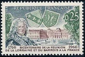 Bicentenaire de l'intégration de la Lorraine et du Barrois