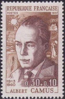 Albert Camus (1913-1960) écrivain, philosophe, romancier