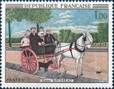 La carriole du père Juniet, du douanier Henri Rousseau (1844-1910)