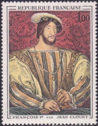 Portrait de François 1er (1494-1547) par Jean Clouet (1475-1541)