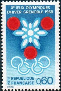 Prélude aux jeux Olympiques d'hiver à Grenoble