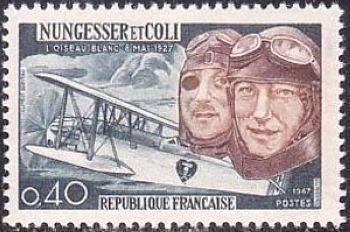 40ème anniversaire de la tentative de la traversée aérienne de l'Atlantique nord