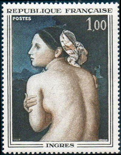 La baigneuse de Dominique Ingres (1780-1867)
