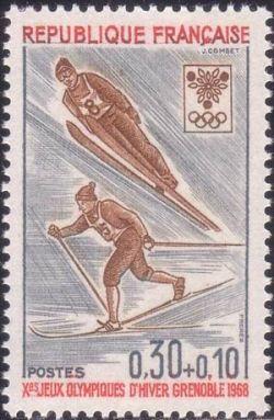 Jeux Olympiques d´hiver de Grenoble - Ski (saut et fond)