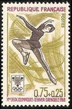 Jeux Olympiques d´hiver de Grenoble - Patinage artistique