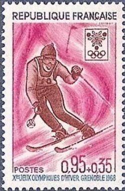 Jeux Olympiques d´hiver de Grenoble - Ski (slalom)