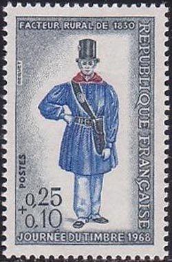 Journée du timbre - Facteur rural vers 1830