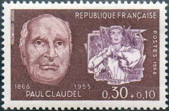 Paul Louis Charles Claudel et ''Jeanne au bucher '
