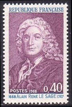 Alain René Lesage (1668-1747) écrivain