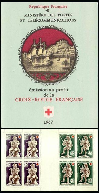 carnet croix rouge timbre carnet croix rouge n 2016 origine france. Black Bedroom Furniture Sets. Home Design Ideas