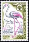 timbre N° 1634, Flamant rose