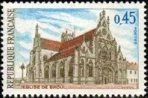 Eglise de Brou à Bourg en Bresse (Ain)