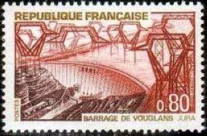 Barrage de Vouglans (Jura)