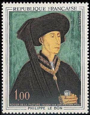 Philippe le Bon duc de Bourgogne (1396-1467) par Rogier de la Pasture