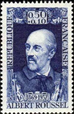 Albert Charles Paul Marie Roussel compositeur (1869-1937)