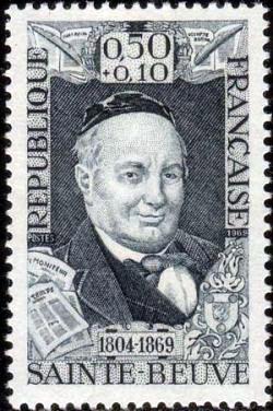 Charles Augustin Sainte-Beuve poète (1804-1869)
