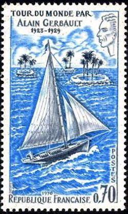 Tour du monde par Alain Gerbault (1923-1929)