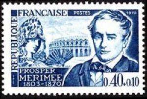 Prosper Mérimée 1803-1870, écrivain