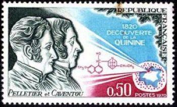 Pelletier et Caventou - 150ème anniversaire de la découverte de la quinine