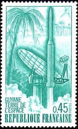 Premier lancement de la fusée «Diamant B»