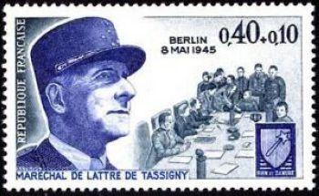 Maréchal de Lattre de Tassigny - Armistice du 8 mai 1945