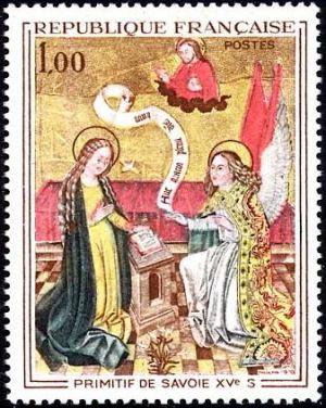 Primitif de Savoie (15è siècle) «L'Annonciation»