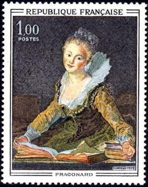 Fragonard (1732-1806) «l'Étude»