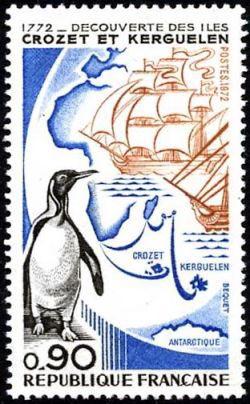 200ème anniversaire de la découverte des iles Crozet et Kerguelen