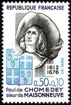 Paul de Chomedey sieur de Maisonneuve