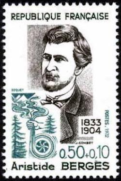 Aristide Bergés (1833-1904)  industriel papetier et ingénieur hydraulicien