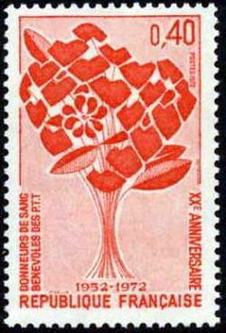 20ème anniversaire des donneurs de sang bénévoles des P T T