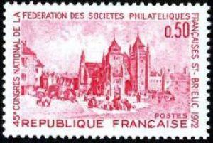 45ème congrès national de la fédération des sociétés philatéliques françaises à Saint-Brieuc