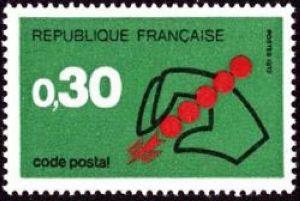 Code Postal à 0 F 30 vert