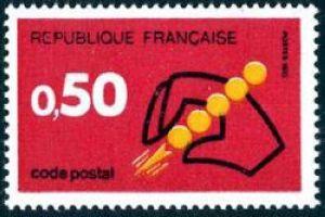 Code Postal à 0 F 50 rouge