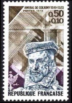 Amiral de Coligny (1519-1572)  maréchal de France sous François I