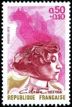 Colette (1873-1954)  femme de lettres française, actrice et journaliste