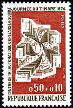 Centre de tri automatique d'Orléans - Journée du timbre