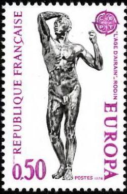 L'âge d'airain de Rodin - Europa