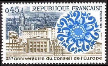 25ème anniversaire du conseil de l'europe