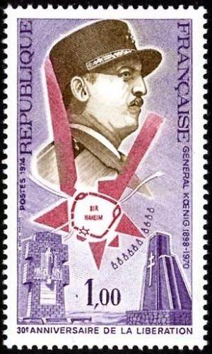 Général Koenig, 30ème anniversaire de la libération