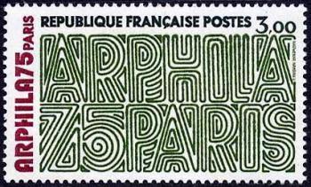 Arphila 75 Paris « Lettres »